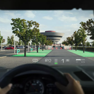 Augmented Reality in Vehicles
